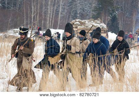 Civilians Figthing Cudgel