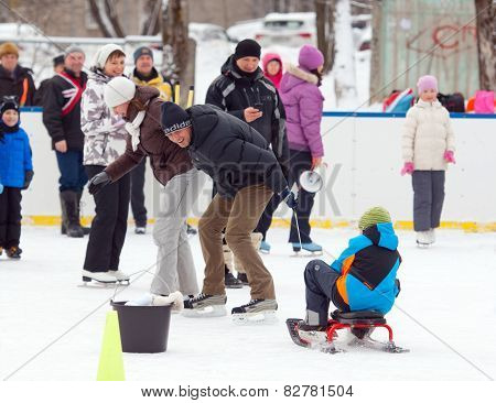 Running With A Sledge