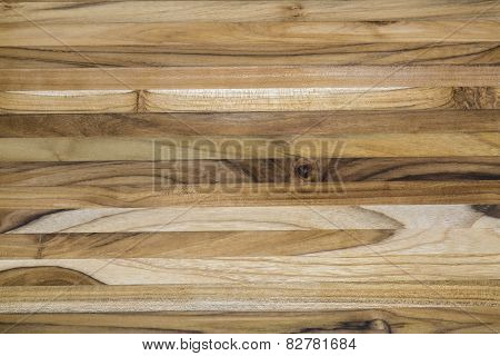 Teak Wood Cutting Board Pattern