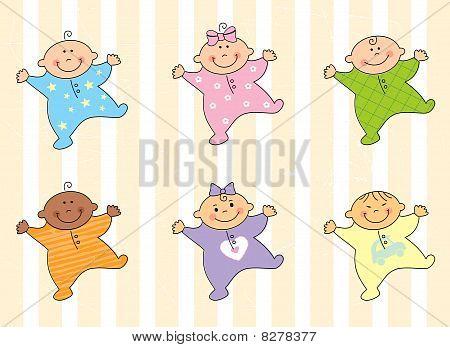 Cartoon babies