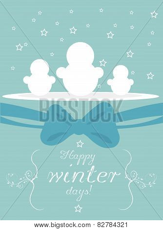Happy Winter Days Card