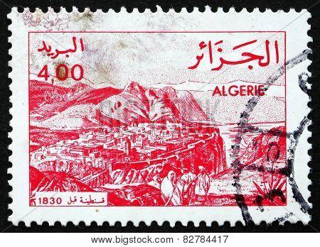 Postage Stamp Algeria 1984 Constantine In 1830