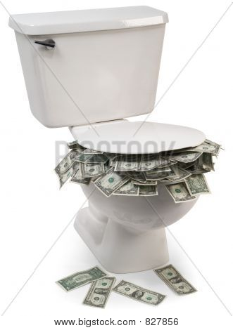 flush with cash