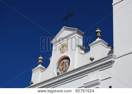 Spanish church detail, Monda.