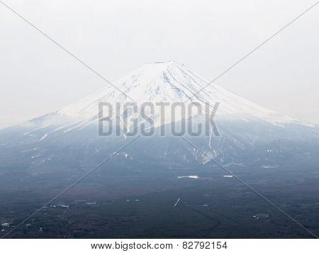 Highest Volcano Mount Fuji