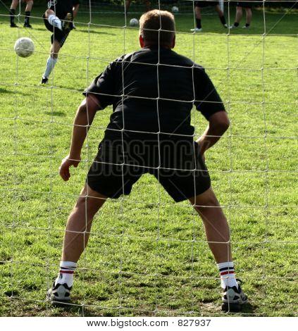 sport, goal keeper