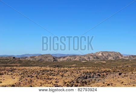 Desert landscape, Almeria.