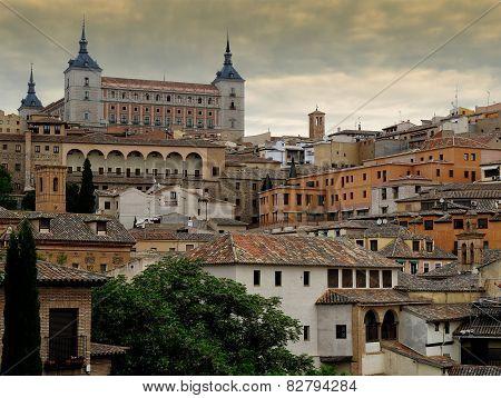 View Of Toledo, Spain