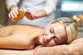 foto of massage oil  - people - JPG