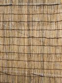 foto of partition  - partition of dried bamboo in ethnic style - JPG