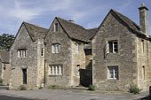 Three Medieval Houses In Lacock poster