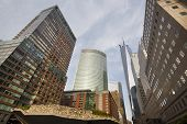 picture of trade  - World Financial Center in New York with the One World Trade Center in the background - JPG