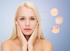 image of wrinkled face  - people - JPG