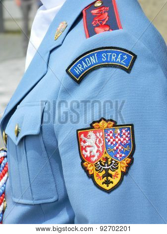Guard , Soldier at Prague Castle