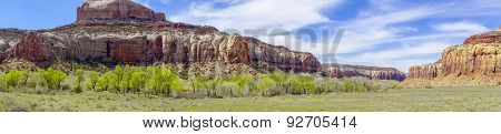 Glen Canyon Mountains And Geological Formations