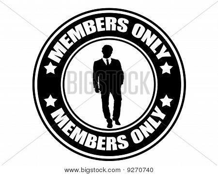 Members Only Label