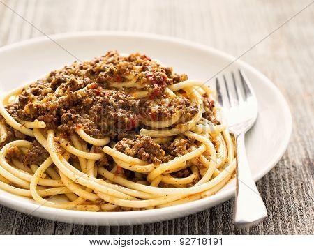 Rustic Italian Spaghetti Bolognese