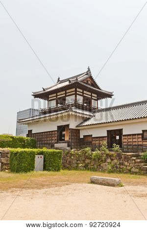 Taikoyagura of Hiroshima Castle, Japan. National historic site