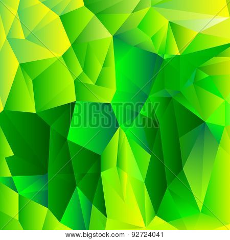 green tone low-poly background
