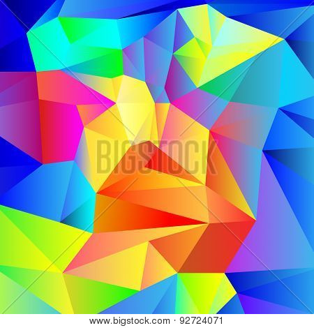 colorful low-poly background