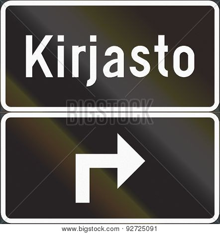 Advance Location Sign In Finland