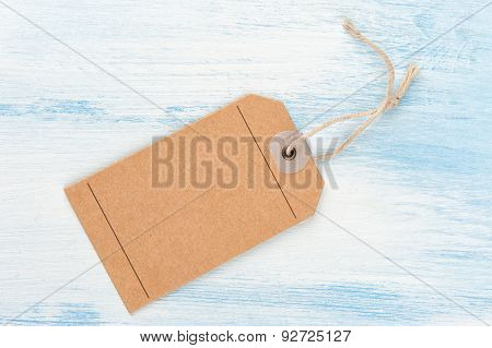 Brown Gift Tag