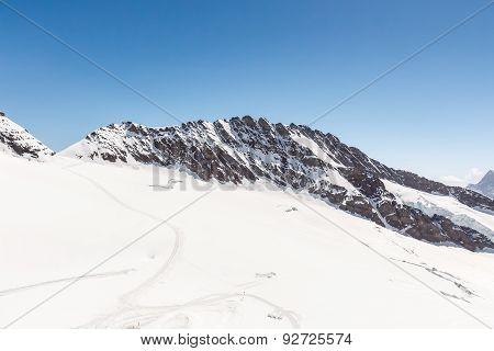 Swiss Alps Mountain Range, Jungfrau, Switzerland