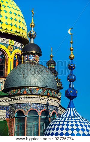 Universal Temple Of All Religions In Kazan, Russia