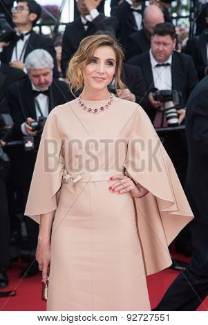 Clotilde Courau attends the opening ceremony and premiere of La Tete Haute ( Standing Tall ) during the 68th annual Cannes Film Festival on May 13, 2015 in Cannes, France.