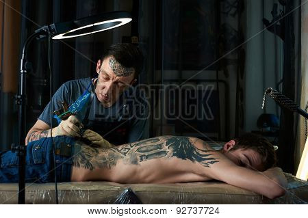 Studio Of Tattoo Artist