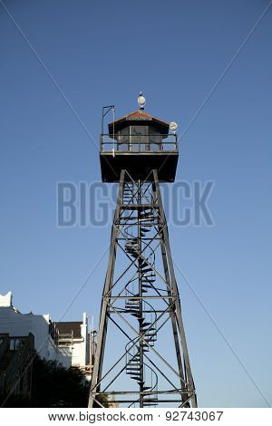 Guard Tower on Alcatraz Island