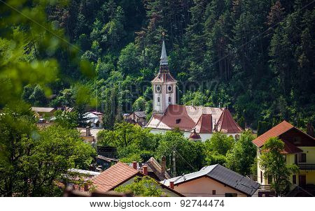 Orthodox Church Bell Tower From Schei, Brasov