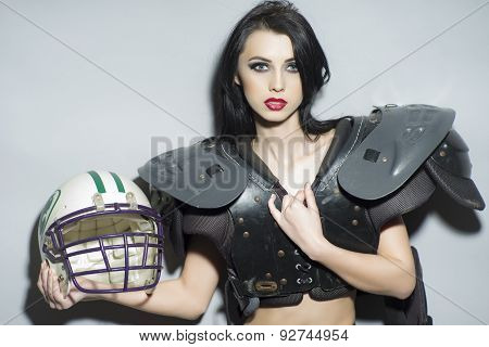 Beautiful Rugby Girl