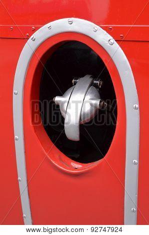 Commercial vehicle fuel filler cap.
