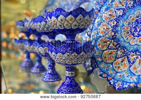 Mina, Handicraft made in Esfahan, Naqsh-e Jahan Square