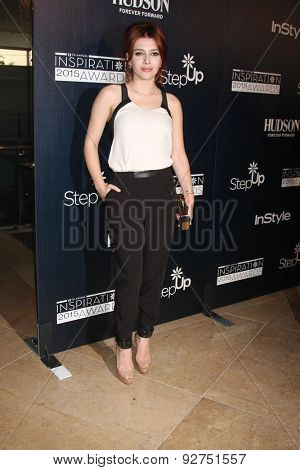 LOS ANGELES - JUN 5:  Elena Satine at the Step Up Women's Network 12th Annual Inspiration Awards at the Beverly Hilton Hotel on June 5, 2015 in Beverly Hills, CA