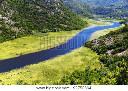 Skadarsko Jezero, Montenegro, The Largest Lake In The Balkans