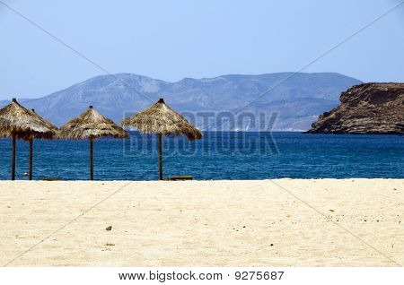 Mylopotas Beach Ios Cyclades Greece