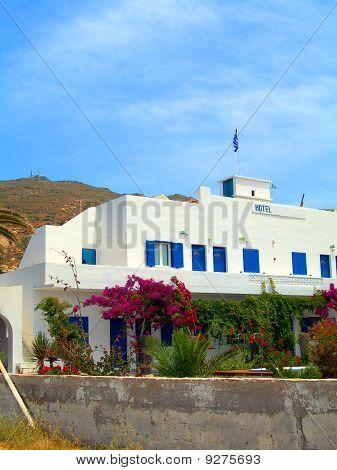 Greek Cyclades Island Ios Typical Architecture