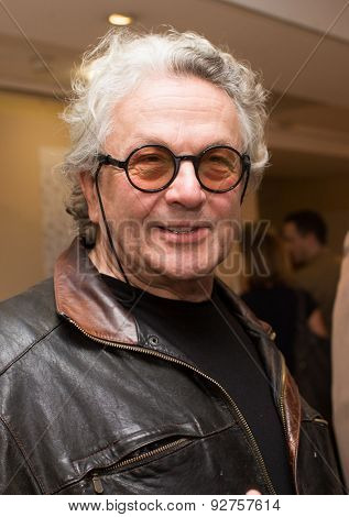 Director George Miller attend the 'Mad Max : Fury Road' Photocall during the 68th annual Cannes Film Festival on May 14, 2015 in Cannes, France.