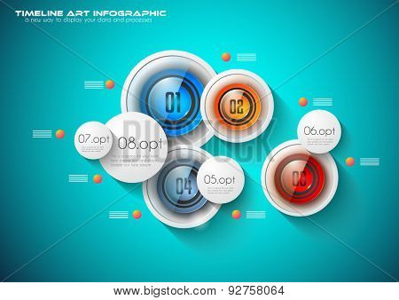 Infographic template for modern data visualization and ranking. Clean Glass Effect buttons and drawn doodles sketch background with marketing design elements.Ideal for printed materials and depliant.