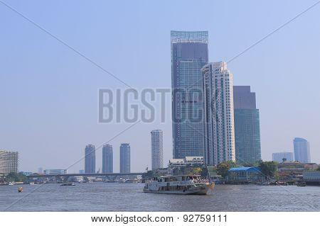 River boat taxi Bangkok