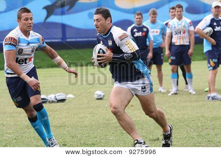 Scott Prince and Mark Minichiello Training