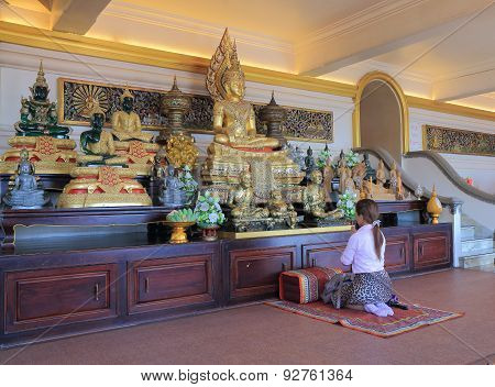 Religious people Buddhism Thailand