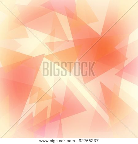 abstract background with triangle shapes
