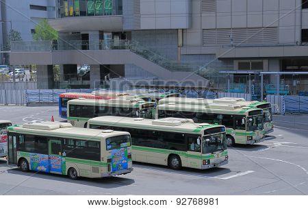 Osaka bus terminal Japan