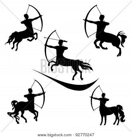 Centaur Set Vector
