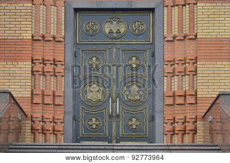 The Doors To The Church