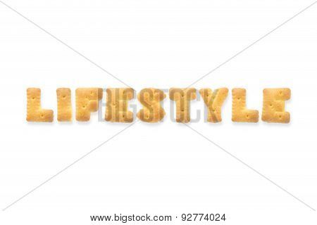 The Letter Word Lifestyle. Alphabet  Cookie Cracker