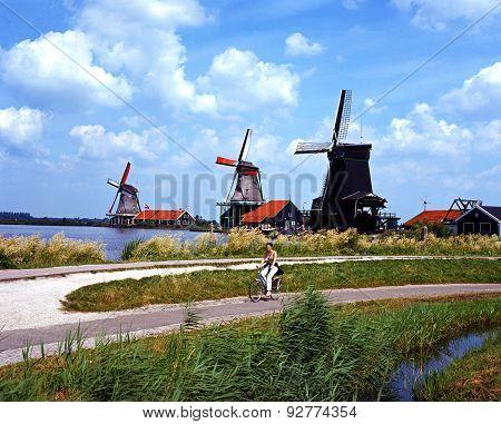 Windmills, Zaanse Schans.